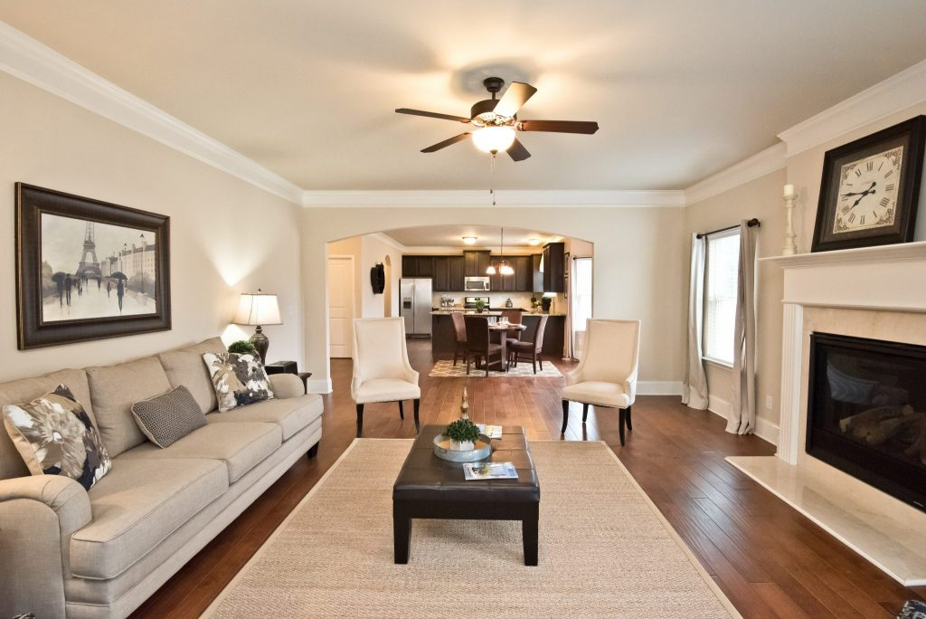 a living room in Brookmont, ready for a tour
