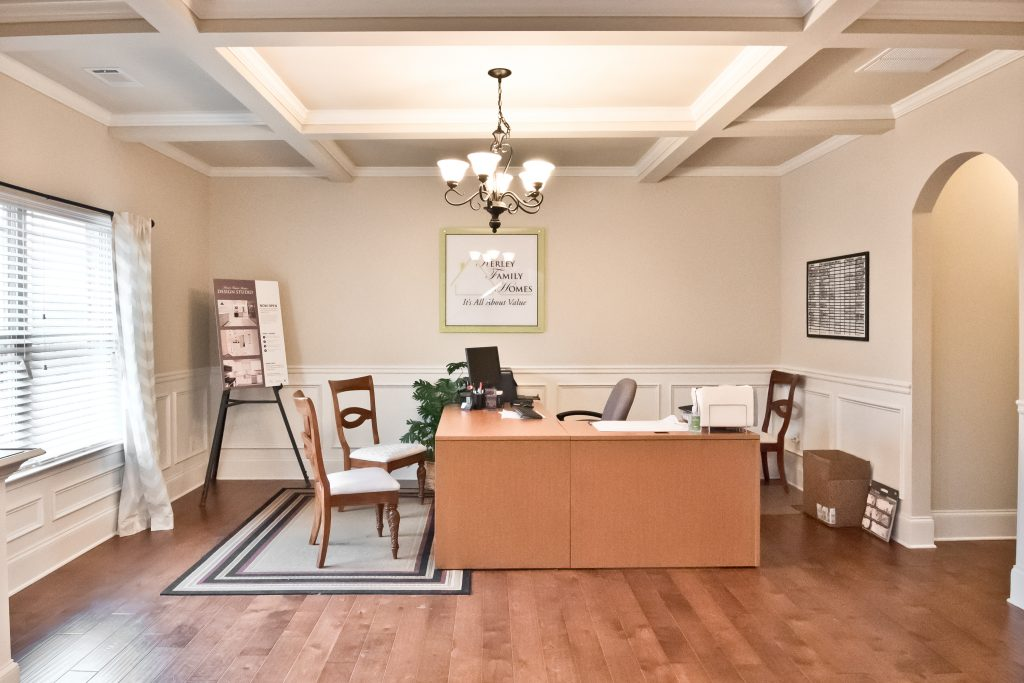 An office in a Kerley Family model home