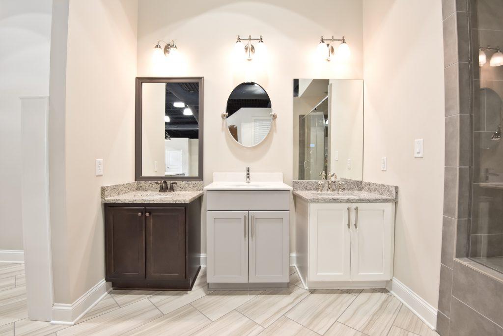bathroom lighting options in the design studio