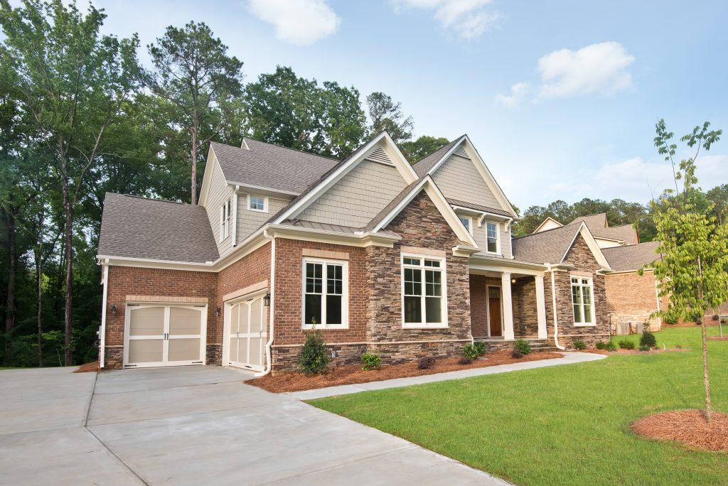 A new home in Heritage at Kennesaw Mountain