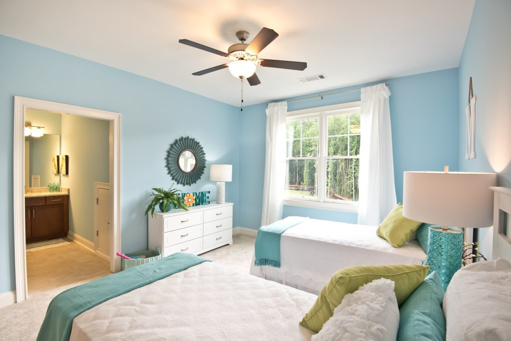 a suite and kids room