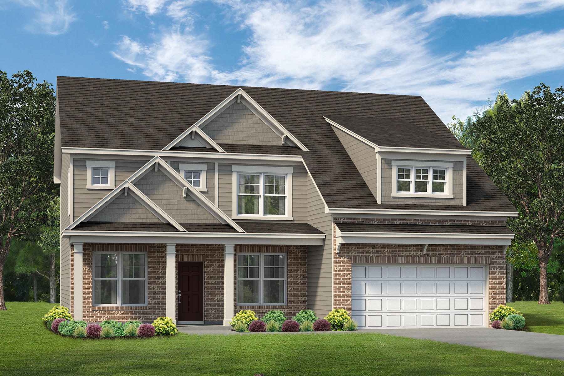 Kerley Family Homes Westbrook Model Home