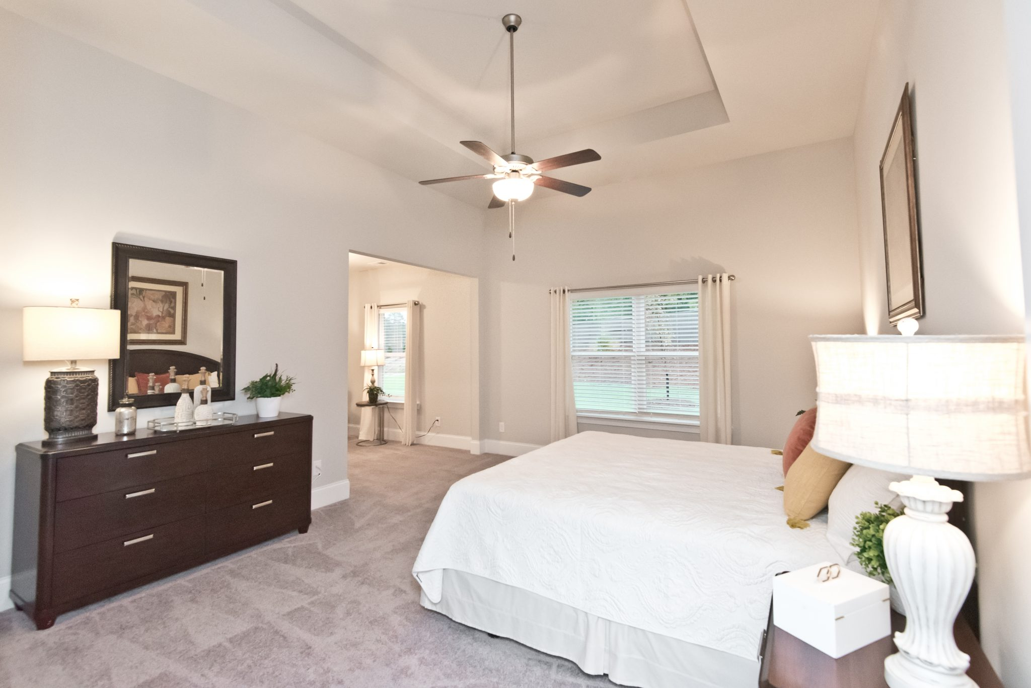 A master bedroom in Sandtown Estates