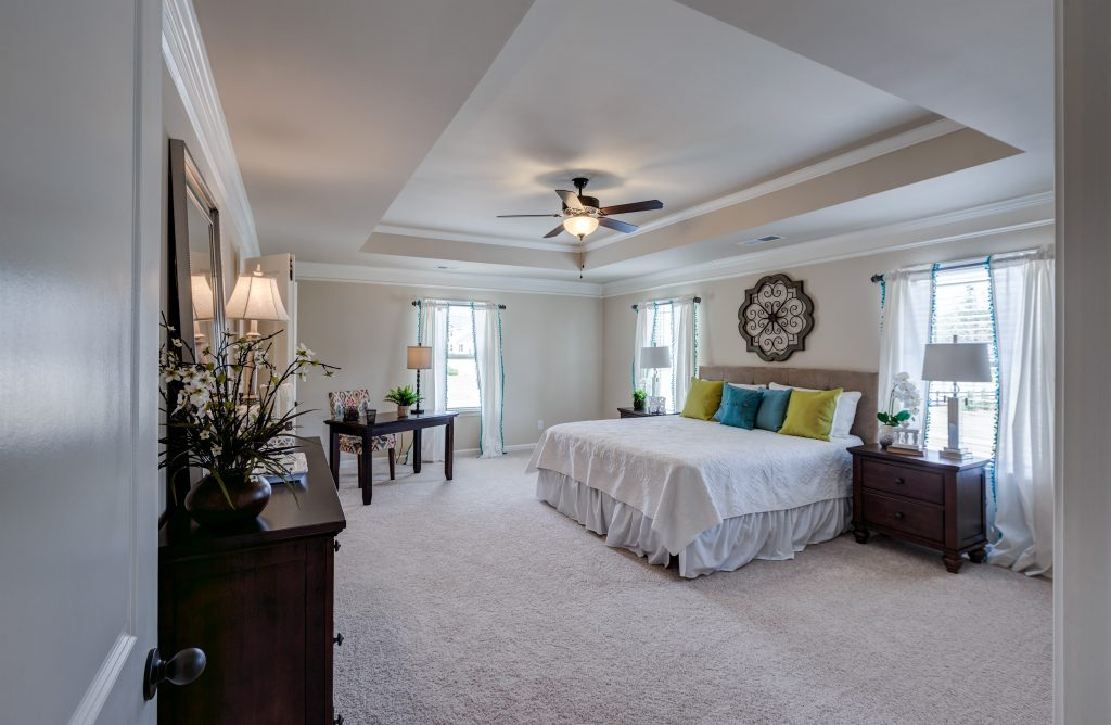 A master bedroom in the reynold