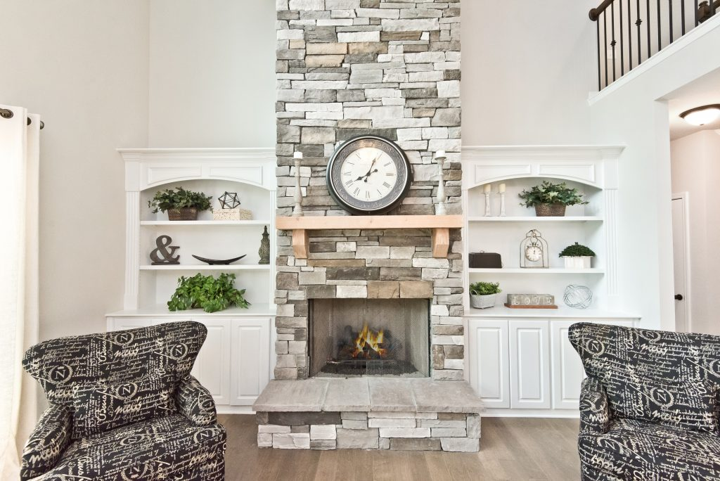 Fireplace in Sandtown Estates