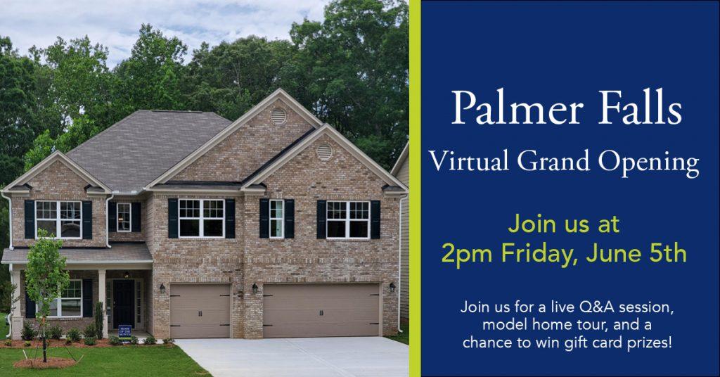 Palmer Falls Virtual Grand Opening Event