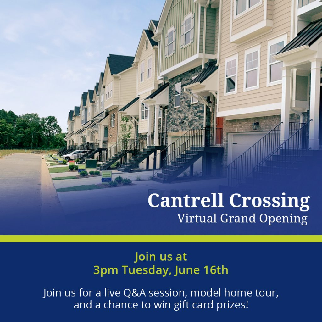 virtual grand opening at cantrell crossing