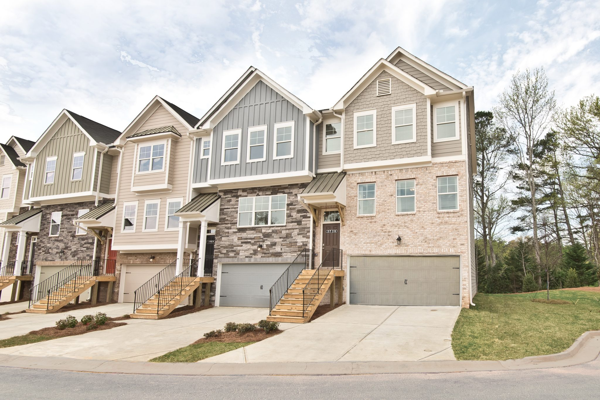 Townhomes in Kennesaw at Cantrell Crossing