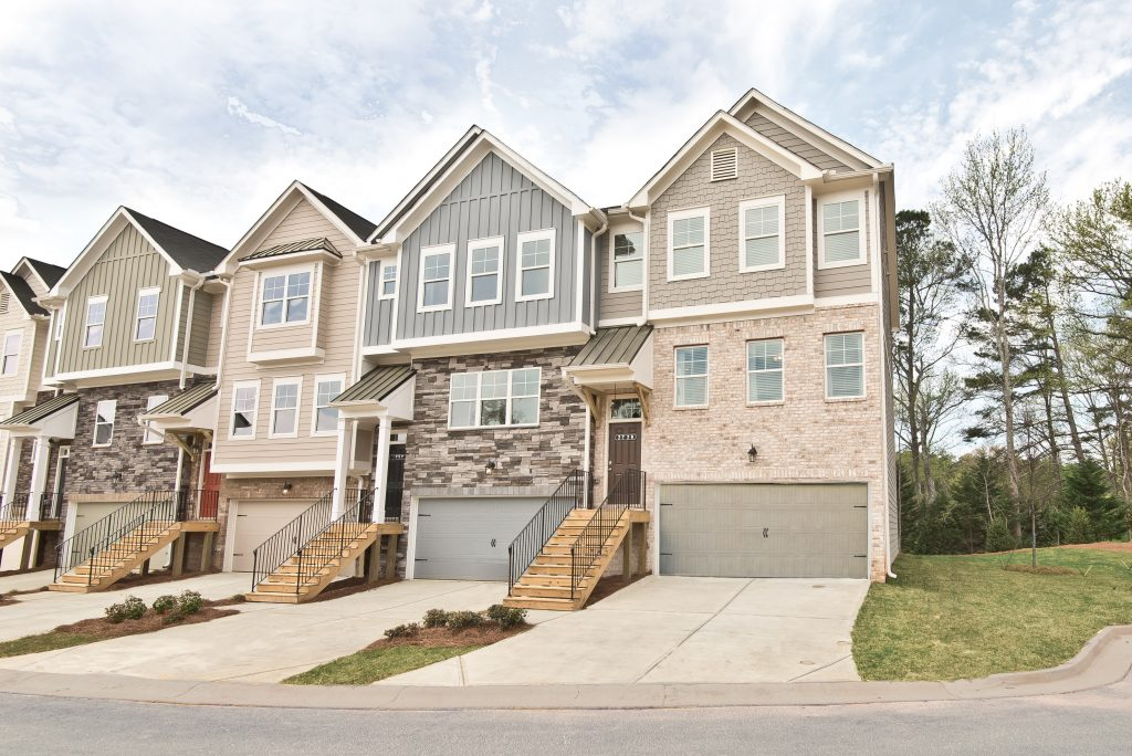 New homes in north cobb county at Cantrell Crossing