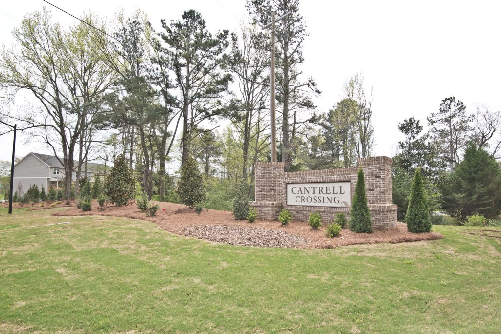 Kennesaw Townhomes in Cantrell Crossing
