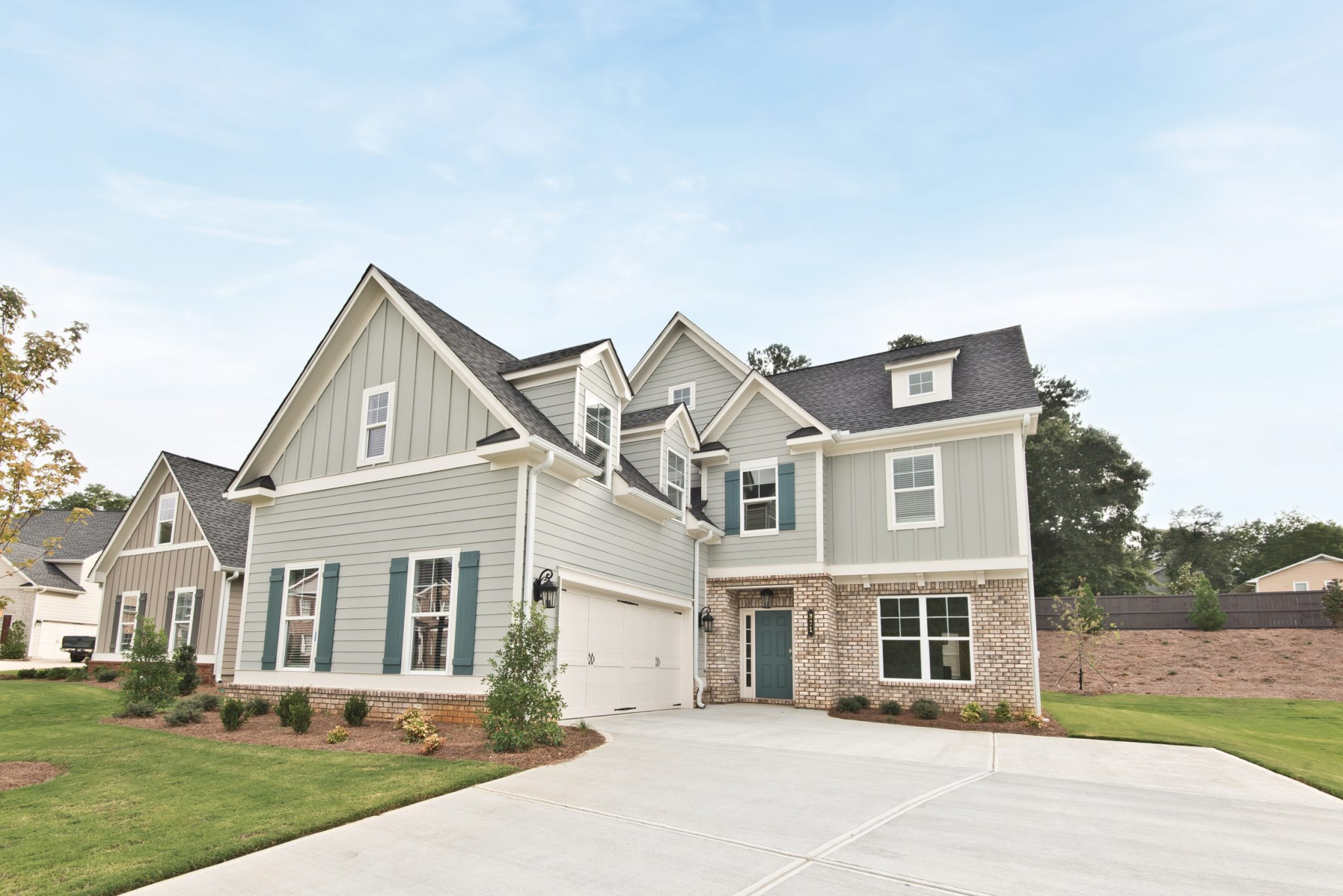 a new construction home in Marietta