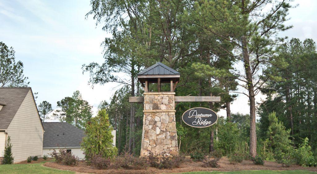 autumn ridge sign
