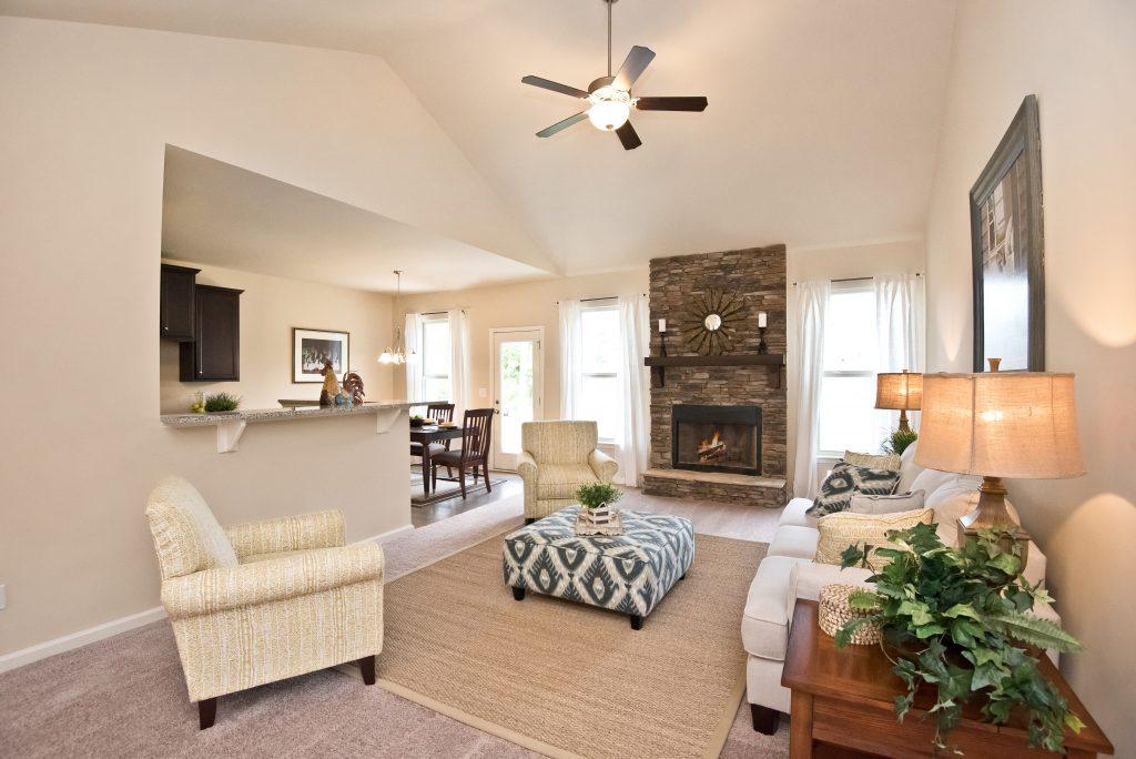 ranch floor plan homes in covington
