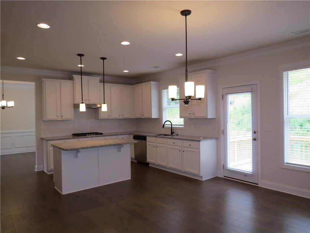 river rock homesite 9 kitchen move-in ready ball ground home