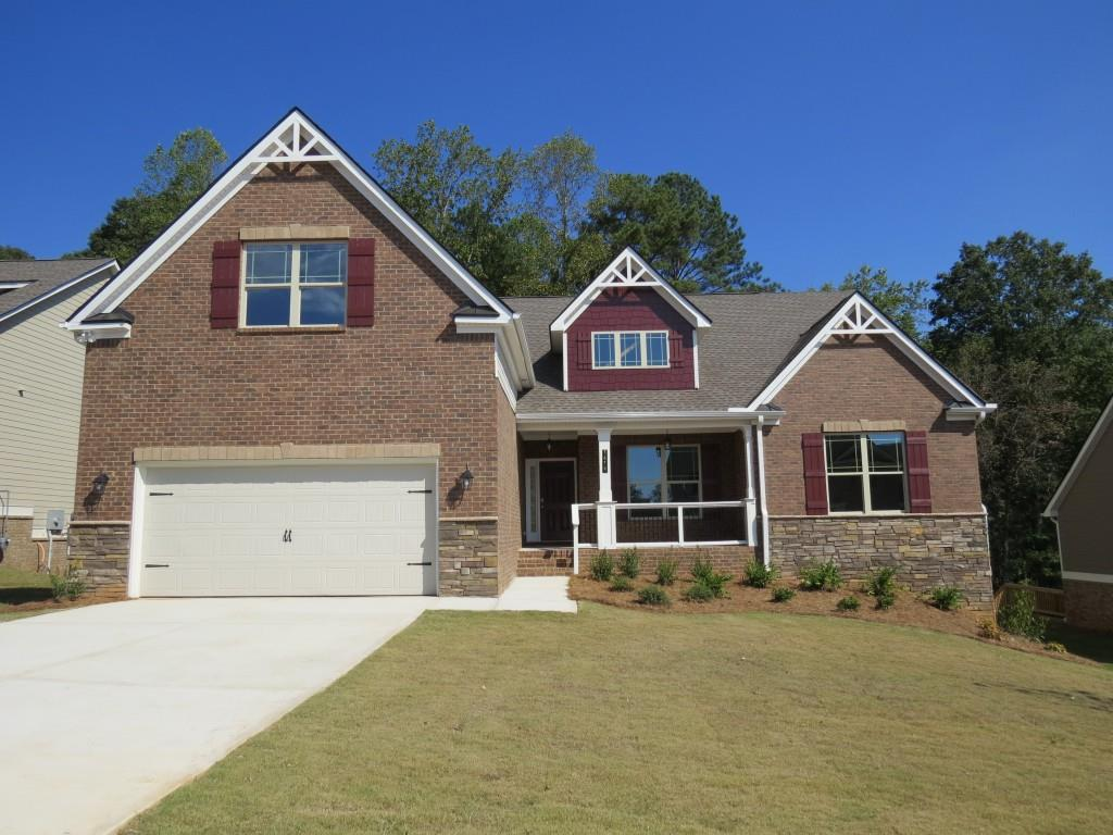 a payton floor plan ranch homes in gwinnett