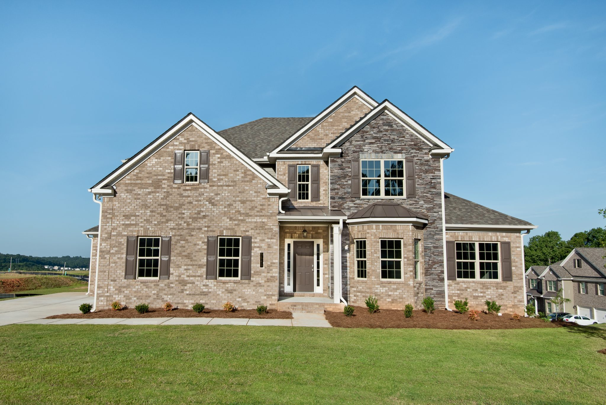 One of the New Construction Townhomes in Ozora Lake