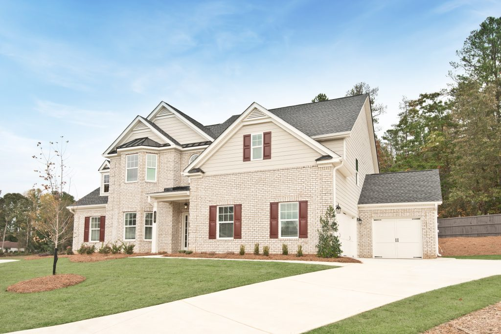New home from Sandtown Estates community in the Cobb corridor