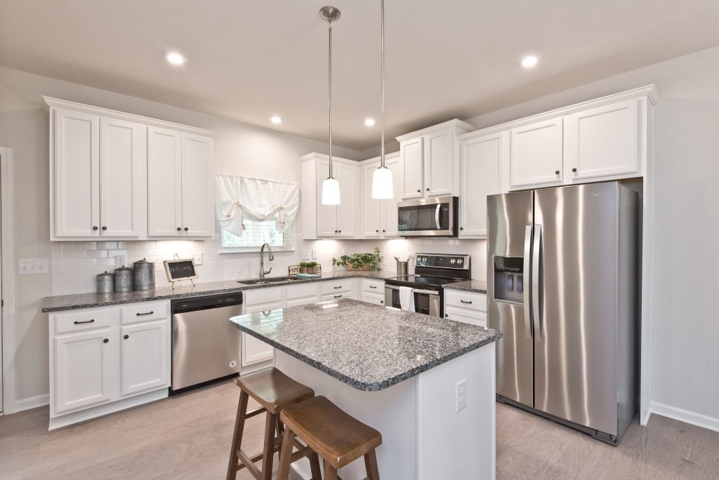 a kitchen in cantrell crossing