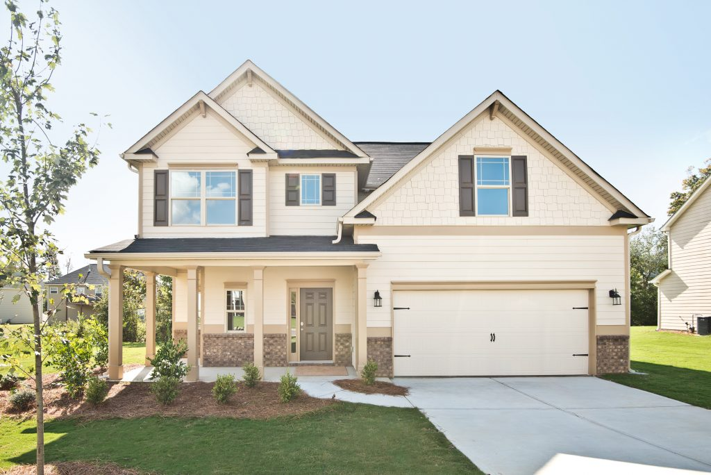 Home Exterior in Maple Village in Adairsville