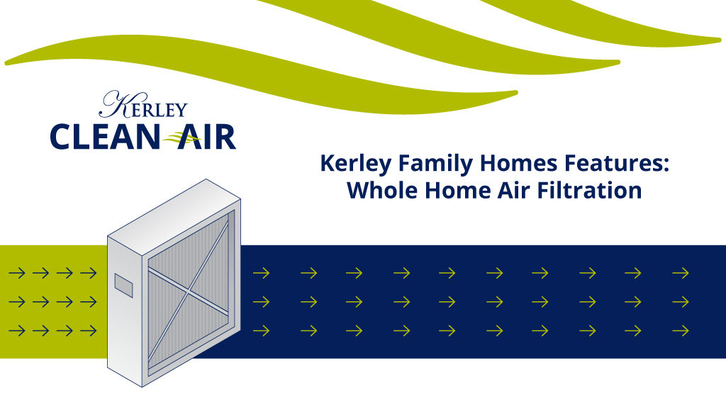 Kerley Family Homes Features: Whole Home Air Filtration
