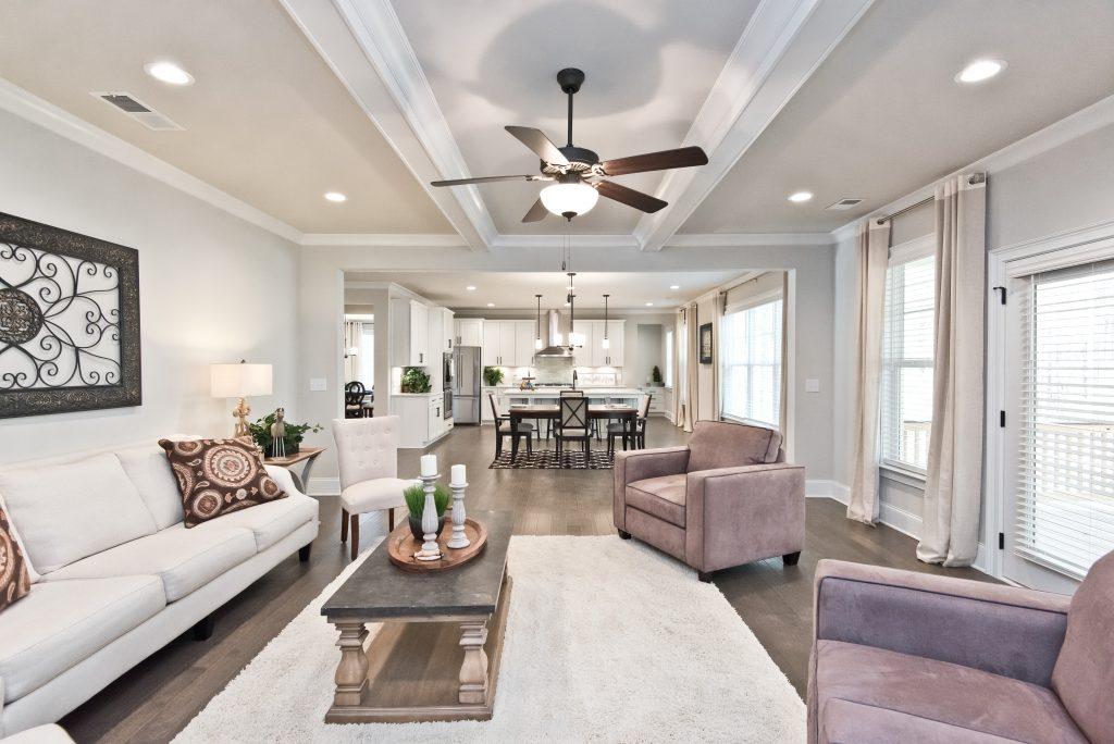 a living room in gunnerson pointe