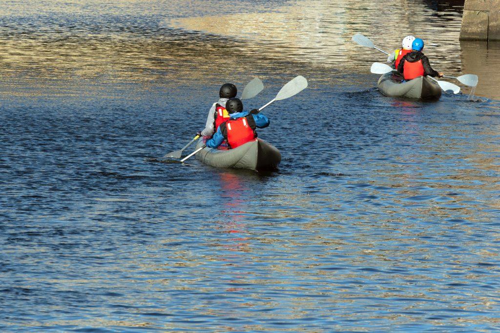 Kayaking while living near the Etowah River