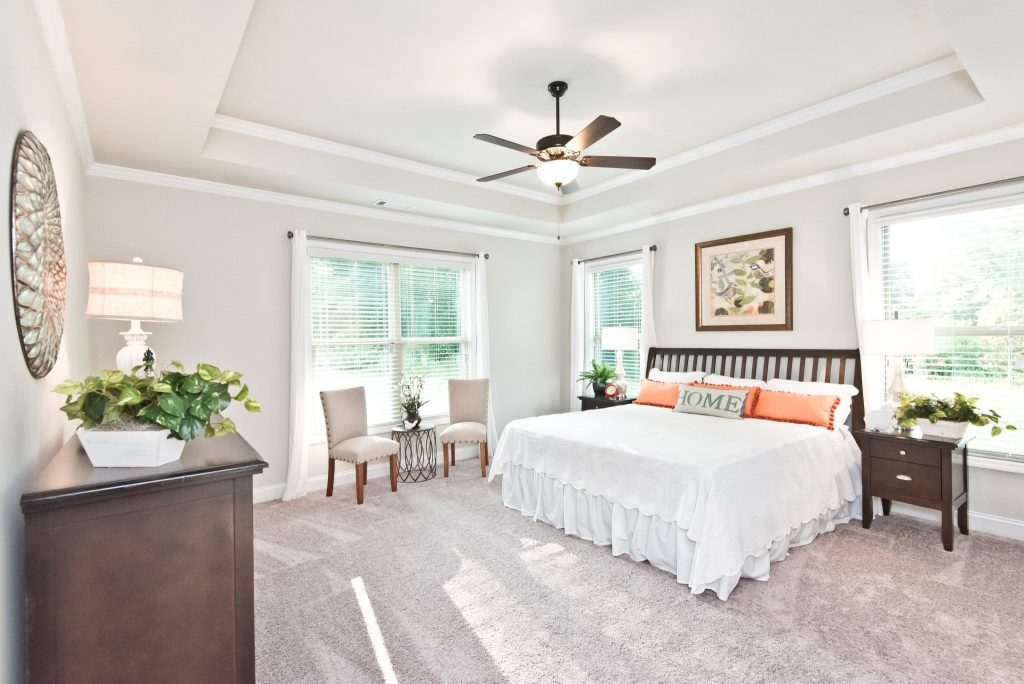 a bedroom in river rock, a home with kerley family homes value