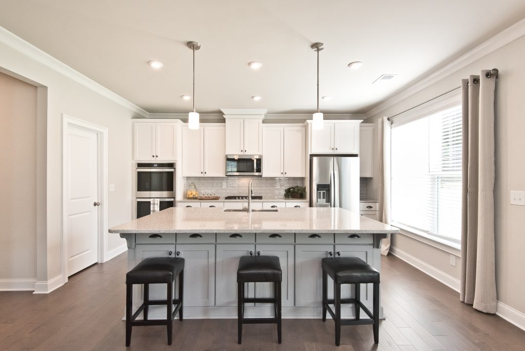 A Kerley Family Homes kitchen with plenty of value per square foot