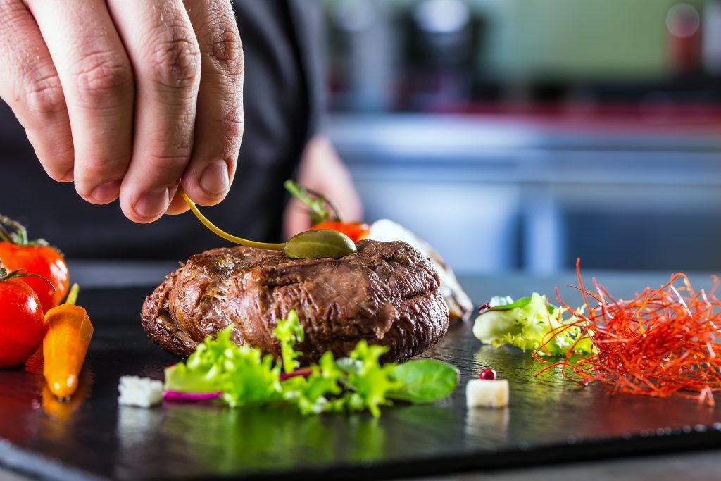 fine dining steak preparation in marietta Marian Vejcik © 123rf