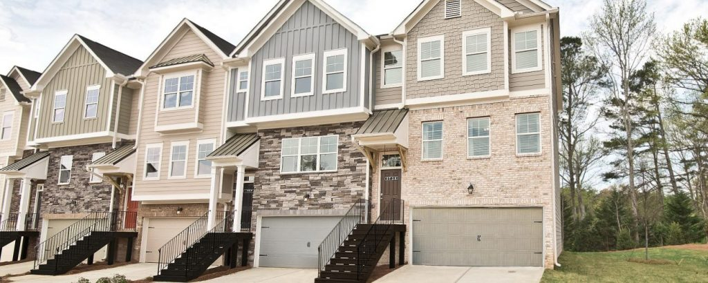 Cantrell crossing is a collection of new homes near Atlanta