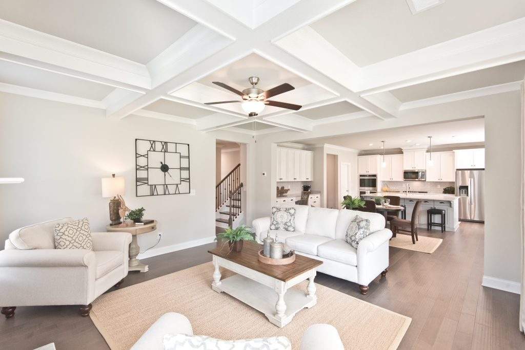 a traditionally decorated home from Kerley Family Homes
