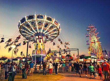 Rides at North Georgia State Fair
